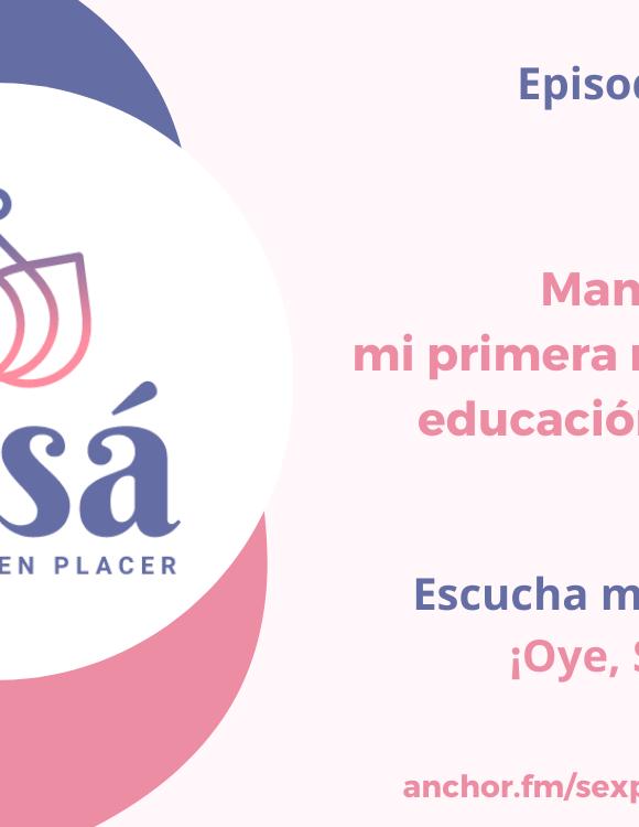 Mamá: mi primera maestra de educación sexual